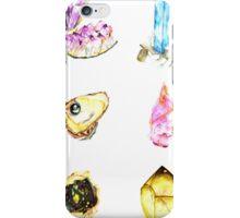 Watercolor Birthstones iPhone Case/Skin
