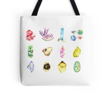 Watercolor Birthstones Tote Bag