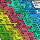 Colorful Interlocks by pjwuebker