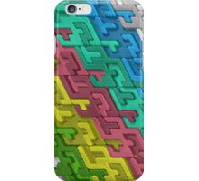 Colorful Interlocks iPhone Case/Skin