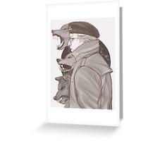 kaz warhound Greeting Card