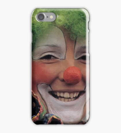 Happy Circus Clown iPhone Case/Skin