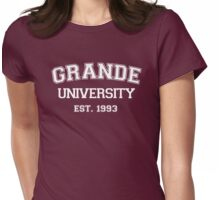 GRANDE UNIVERSITY - EST. 1993 #ArianaGrande Womens Fitted T-Shirt