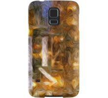 Burning Candle Abstract Samsung Galaxy Case/Skin