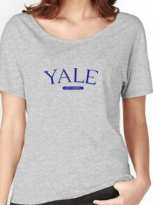YALE Women's Relaxed Fit T-Shirt