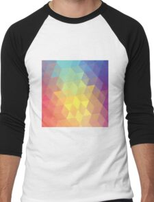 Living Colours Men's Baseball ¾ T-Shirt