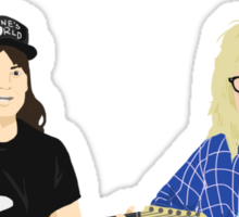 WAYNE'S WORLD - Party On! Sticker