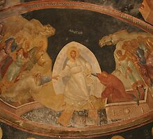 The Anastasis fresco in Chora Church Turkey by docnaus
