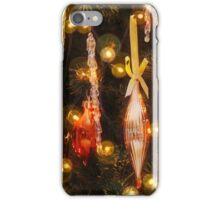 Golden Christmas iPhone Case/Skin