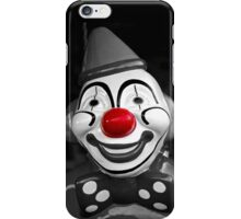 Red Nose Clown iPhone Case/Skin