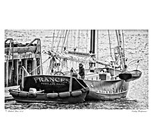 Tending Windjammer Photographic Print