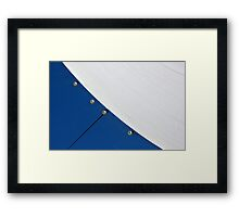 Half Pipe Abstract 4 Framed Print