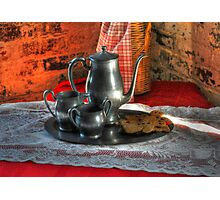 Tea And Gingerbread Photographic Print