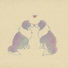 mistletoe collies by laureliz