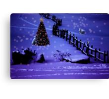 Christmas Magic Canvas Print