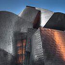 Guggenheim Museum Bilbao Detail by Unai Ileaña