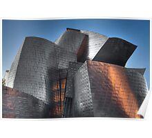 Guggenheim Museum Bilbao Detail Poster