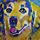 Golder Retriever by Kelly Telfer