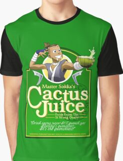 Master Sokka's Cactus Juice Graphic T-Shirt