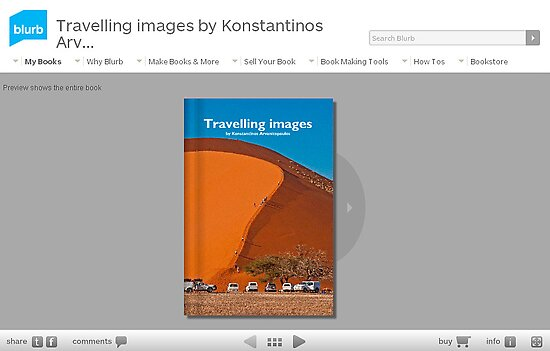 Travelling Note-book (60 pages) from BLURB by Konstantinos Arvanitopoulos