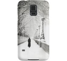 Figures in the Snow  Samsung Galaxy Case/Skin