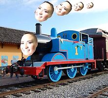 POOT! POOT! HERE COMES THOMAS THE TRAIN by Zach Williams