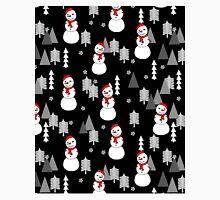 Snowman - Night by Andrea Lauren  Classic T-Shirt