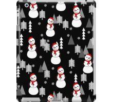 Snowman - Night by Andrea Lauren  iPad Case/Skin