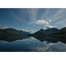 The Pap of Glencoe Reflected in Ballachulish Bay Photographic Print