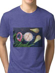 Jar full of pickled pears Tri-blend T-Shirt