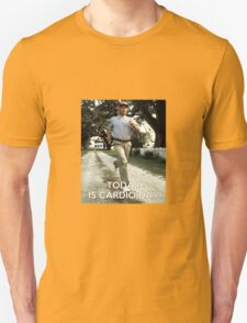 Today is cardio day Forrest Gump runs T-Shirt