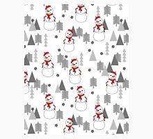 Snowman - White by Andrea Lauren  Classic T-Shirt