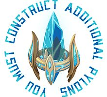 You must construct additional pylons by Gamusaur