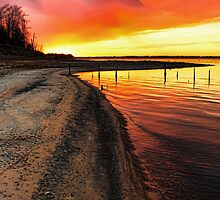 Fabulous Sunset Colors by Carolyn  Fletcher