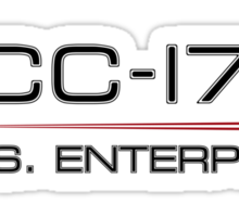 ST Registry Series - Enterprise Alternate Logo Sticker