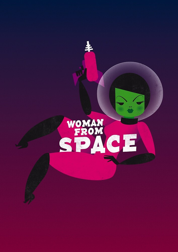Woman from space by Marco Recuero