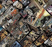 Vintage comics by Carlo-Velardi