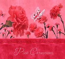 Pink Carnations by Doreen Erhardt