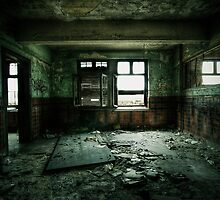 Decaying Room by Nicolas Deflandre