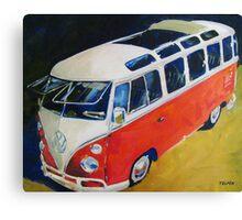 '23 Window Sunroof VW Bus' Type I Volkswagen Canvas Print