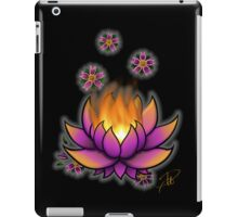Flaming Lotus iPad Case/Skin