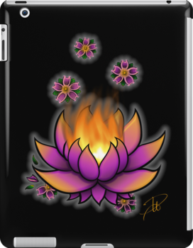 Flaming Lotus by dextrahoffman
