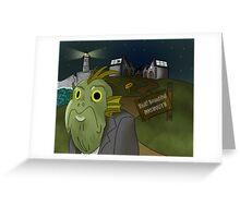 Welcome to Innsmouth Greeting Card