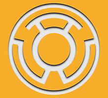 Yellow Lantern Insignia (White) by ZetaOfS