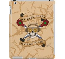Gonzo Pirate iPad Case/Skin