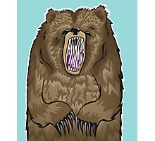 Grizzly Photographic Print