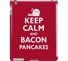 Keep Calm and Bacon Pancakes iPad Case/Skin