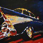 '1957 Chevy Bel Air' Classic Chevrolet by Kelly Telfer