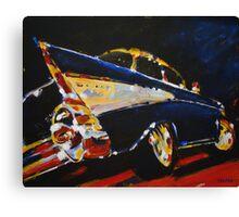 '1957 Chevy Bel Air' Classic Chevrolet Canvas Print