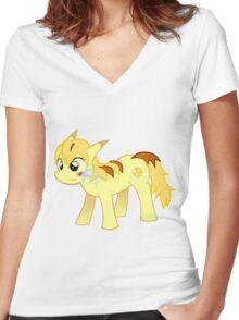 My Little Pokemon - Thunder Blot Women's Fitted V-Neck T-Shirt